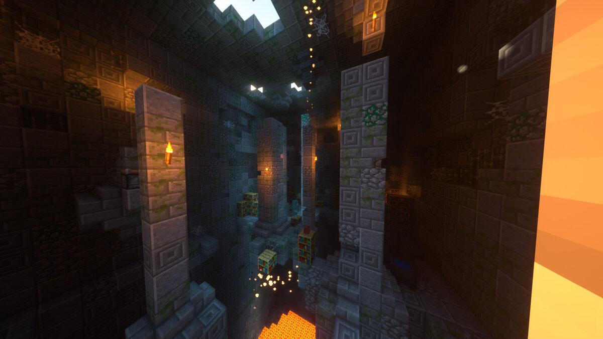 Dark Dungeon Map!